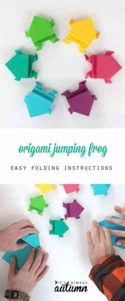 These origami jumping frogs make the perfect STEM activity for your frog and toad study.
