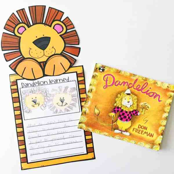 Dandelion by Don Freeman makes the perfect mentor text for teaching central message or lesson.