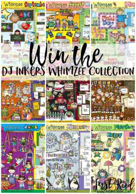 You could win the entire DJ Inkers Whimzee Collection. Visit my blog to enter!