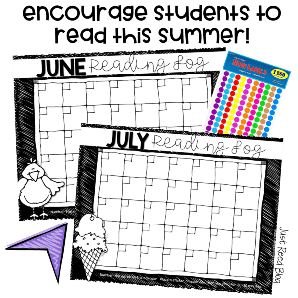 This FREE Summer Reading Program will motivate even your reluctant readers to read all summer long. It includes summer reading calendars.