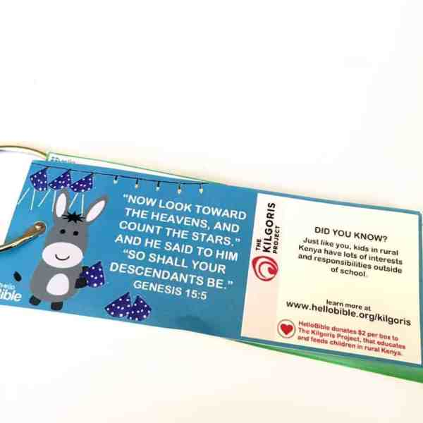 -HelloBible is a Christian subscription box for children used to bring Bible stories to life.