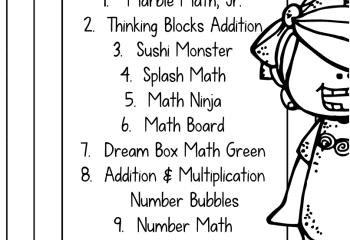 Top Ten Math Apps