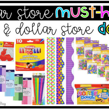 7 Dollar Store Must-Haves {& 5 Dollar Store DON'TS!}