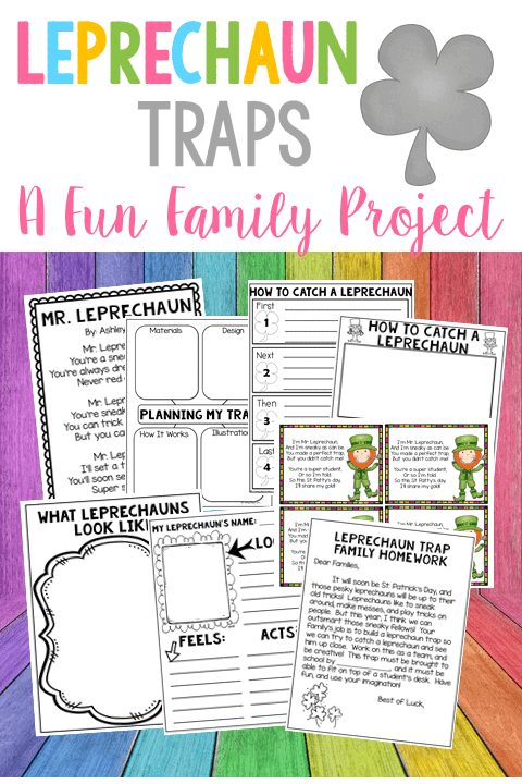 Leprechaun traps are a fun classroom project in March