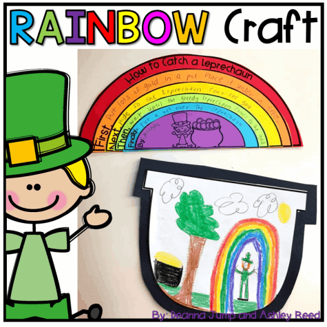 This rainbow expository writing craft lets students explain how they would catch a leprechaun.