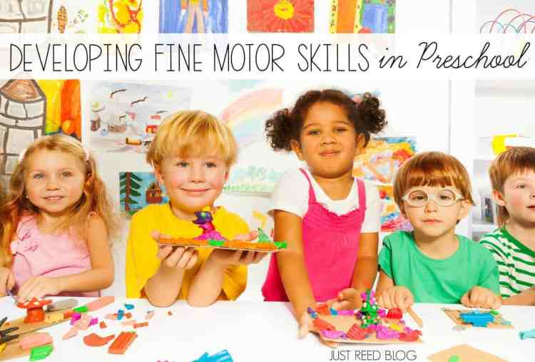 Practical strategies for helping preschoolers develop fine motor skills with these fine motor activities.