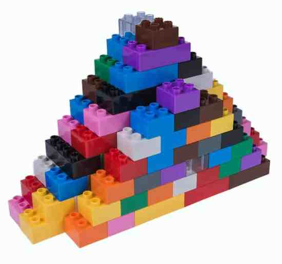 Jumbo building bricks or legos are perfect for developing fine motor skills in preschoolers.