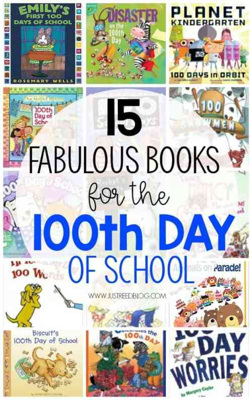 This list of 15 fabulous books is perfect for the 100th day of school. Featuring well loved favorites and newer finds, your preschool, kindergarten, or first grade students are sure to fall in love with these 100th day of school read alouds! #100thdayofschool #100thday #hundredthday #hundredthdayofschool