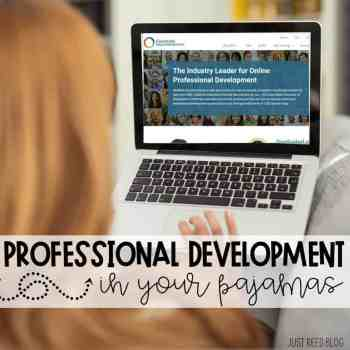 Professional Development for Preschool Teachers You can Complete in Your PJ's