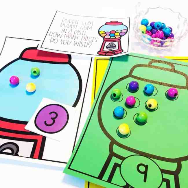 Counting Practice and Number Identification Activities