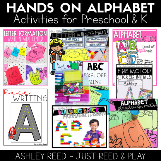 Hands on Alphabet Activities Bundle