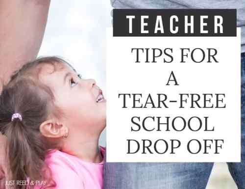 These teacher tips for a tear free morning drop off will help stop kids from crying at school every morning.