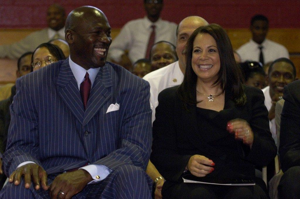Michael Jordan And Lebron James Together