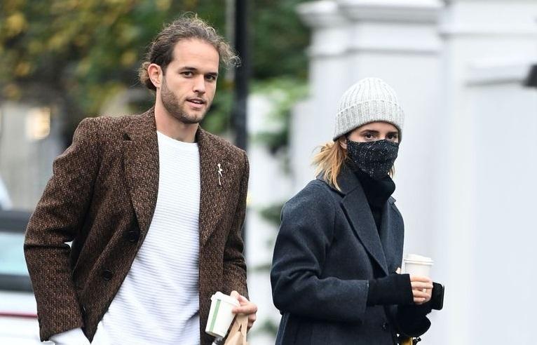 Leo Robinton and Emma Watson
