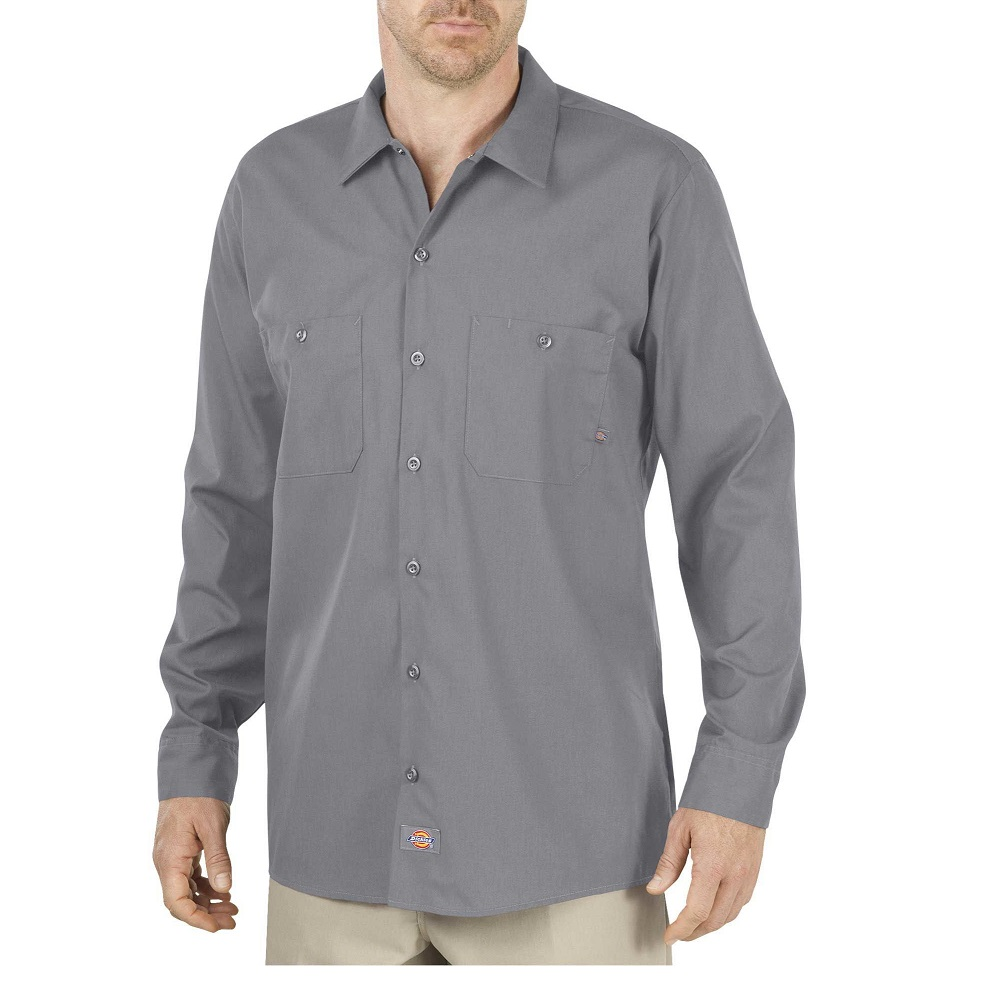 651940d65bc Long Sleeve Industrial Work Shirt