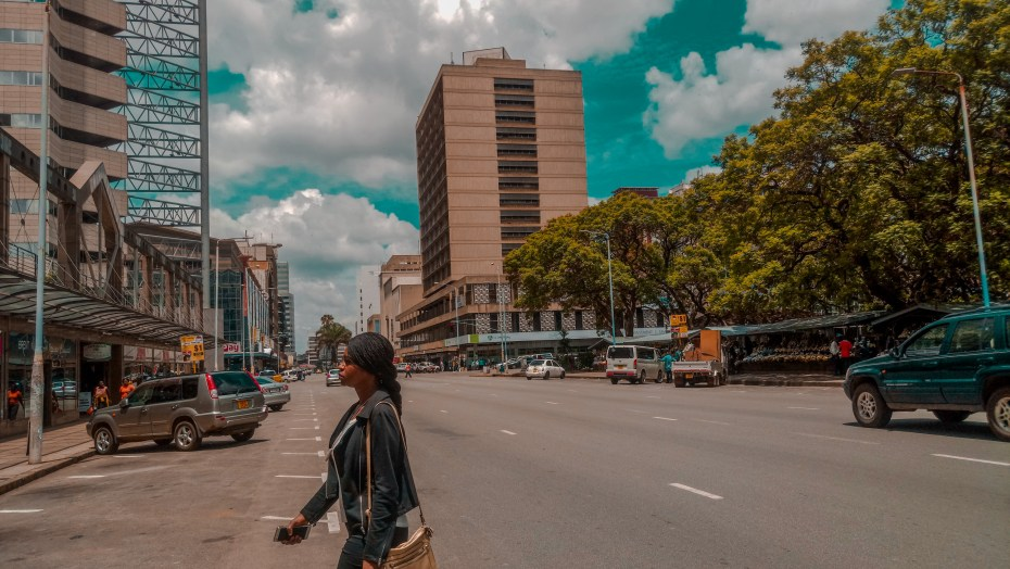 Sunny day in Harare