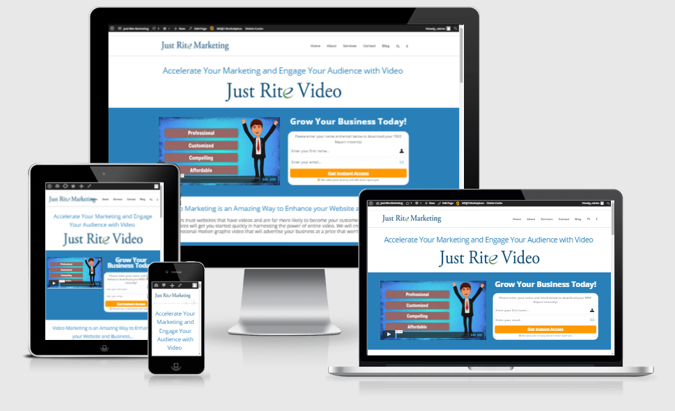 video marketing website