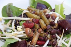 Un-Chef Bean Salad
