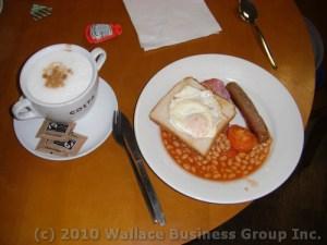 English Breakfast, French Coffee!