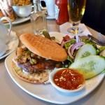 Curried Lamb Burger
