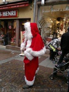 Santa Claus or Père Noël