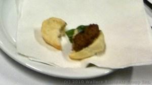 Miniature Lamb Burger