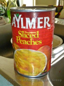 Canned Peaches