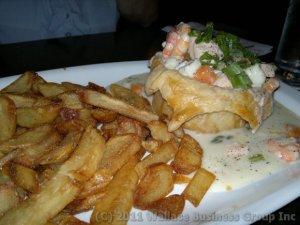 Seafood Vol-au-Vent