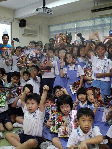 Free Comic Book Day at Canossian