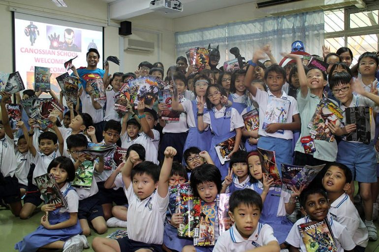 Free Comic Book Day at Canossian