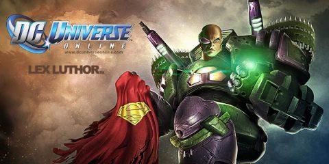 DC Universe Online Feature Lex Luthor Superman