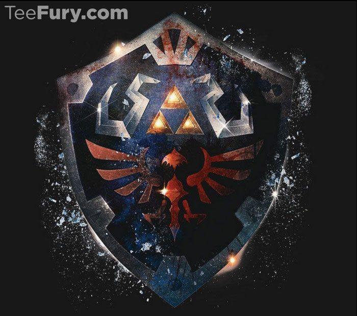 Tee-Fury-Epic-Hylian-Shield