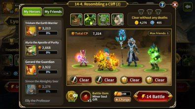 Elune Saga Screenshot 1