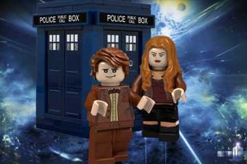 Doctor Who LEGO feature