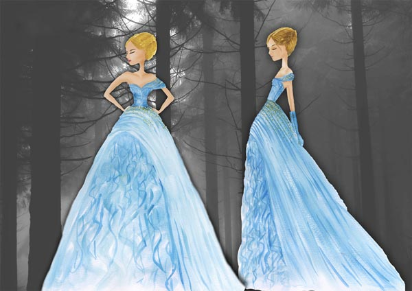 Cinderella-Inspired-Dress