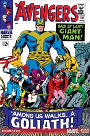 The Avengers #28 - First Appearance as Goliath
