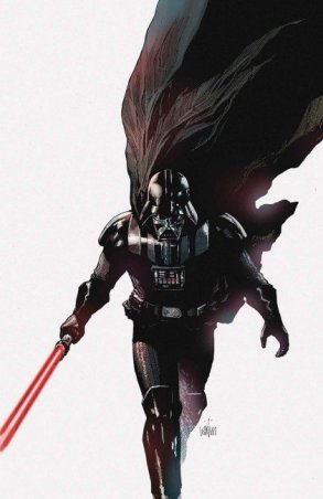 Leinil's latest work with Marvel - Star Wars' Darth Vader