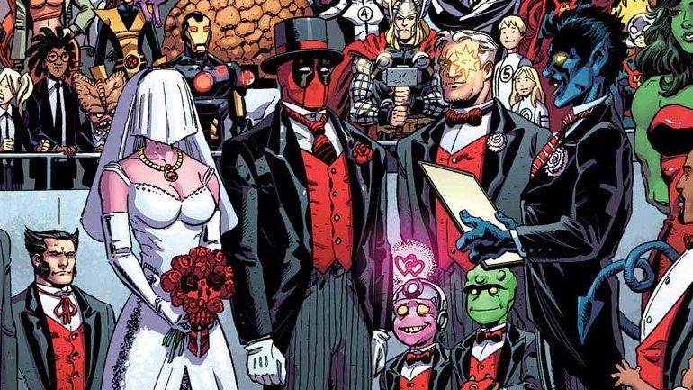 THE WEDDING OF DEADPOOL #1