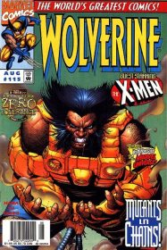 Wolverine #115 - First Wolverine cover by Leinil.