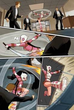 Gwenpool Special #1 - Preview 1