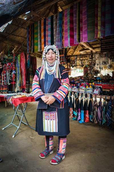 Ladies of the Karen Long Neck Village