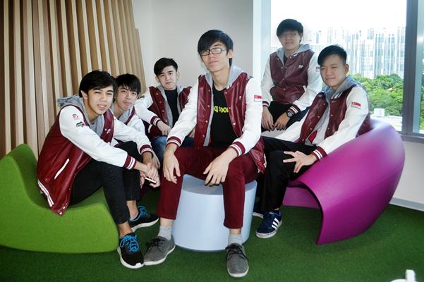 The team from Republic Polytechnic, Singapore