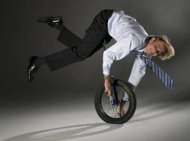 World Champion Unicyclist Jamey Mossengren