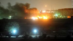 Pakistan Navy Base under attack PNS Mehran