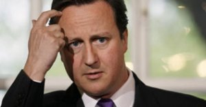 david cameron confronted by a doctor