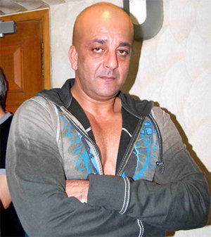 Bald look of Sanjay Dutt