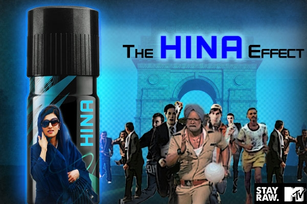 Hina Rabbani's Effect over India