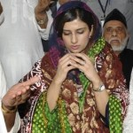hina rabbani khar praying in ajmer
