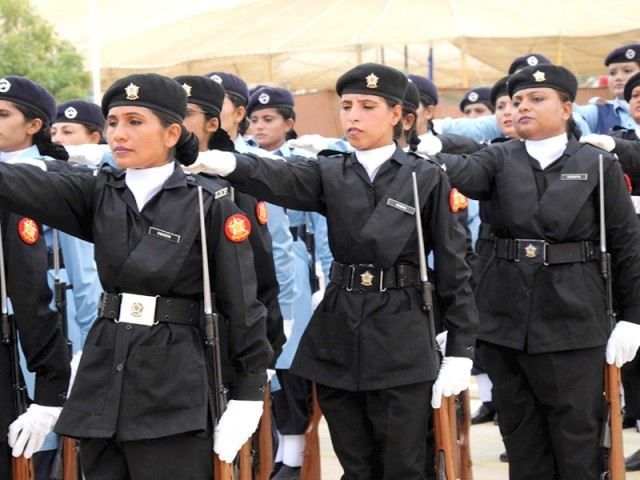 Female anti narcotics force Pakistan