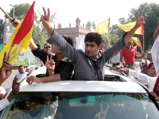 Save Pakistan Rally Lead by Abrar ul Haq 3